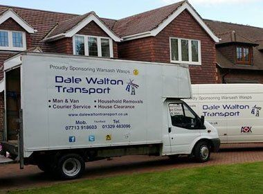 Dale Walton Transport company van