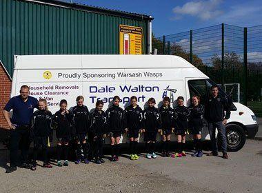 The Dale Walton Transport team