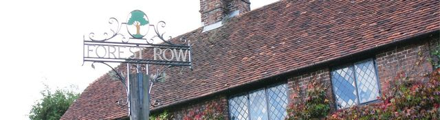 forest row sign