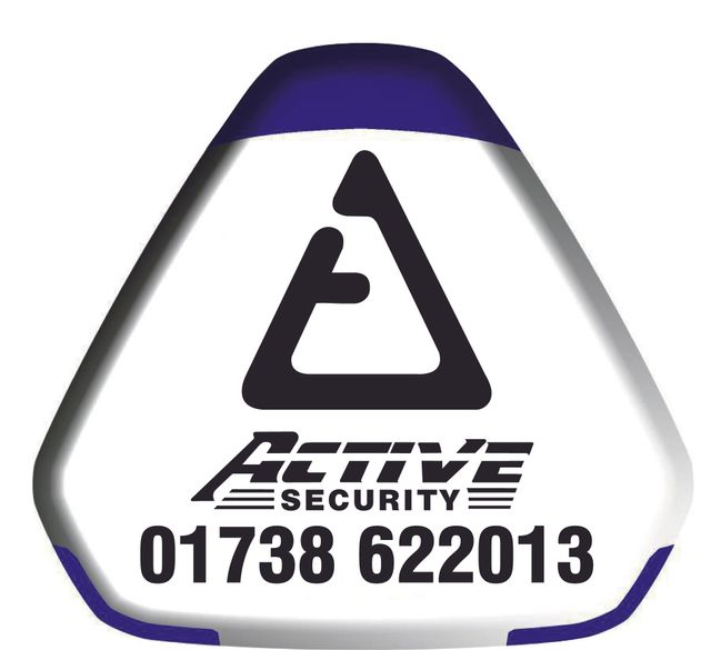 Active Security call out logo
