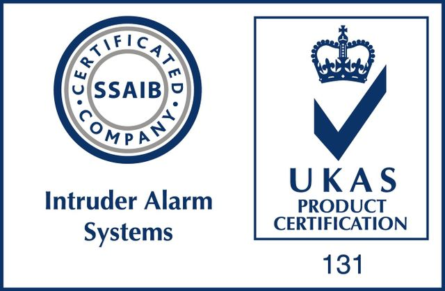 SSAIB and UKAS Product Certification logo