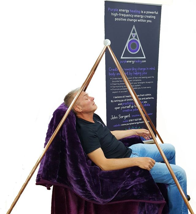 Healing Sessions with Pyramid Structures | Purple Energy Healing