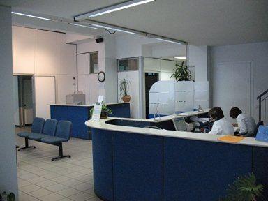 reception centro medico