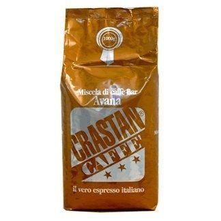 una confezione di caffè di color arancione
