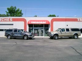 Image result for martindales custom truck store front images