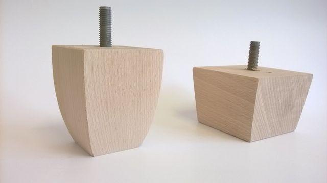 piedi in legno poltrona