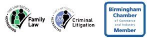 Family Law, Criminal Litigation and Birmingham Chamber logo