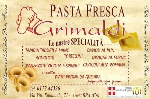 pasta fresca Grimaldi