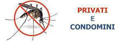 Disinfestazioni da insetti per privati e condomini