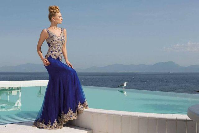 vestito elegante da cerimonia