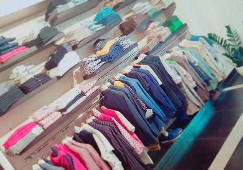 Vista dei vestiti