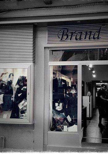 Vista del negozio Brand