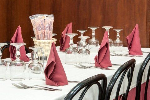company and business lunches and dinners
