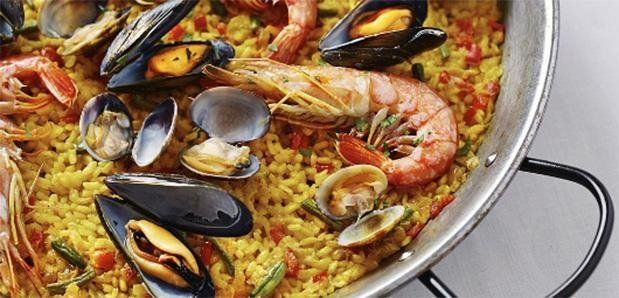 PAELLA SERVED EVERY FRIDAY