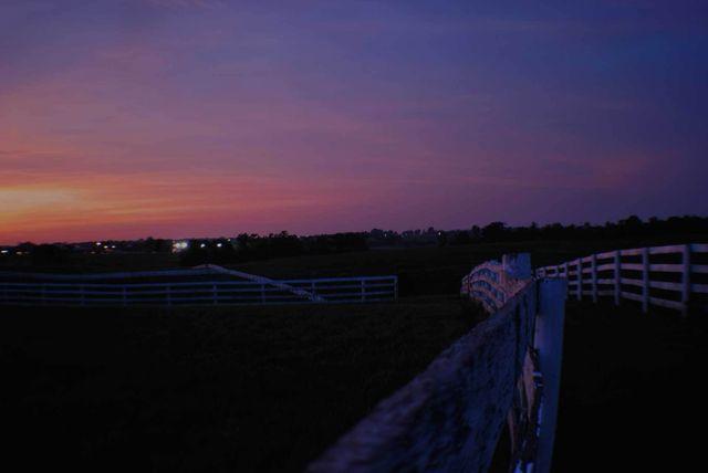 A photo of a farm