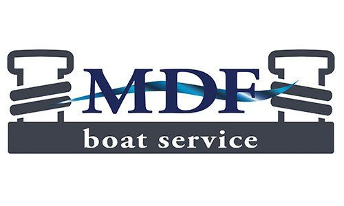 Logo MDF boat service