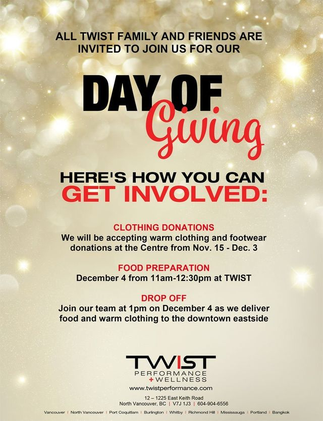Day of Giving poster