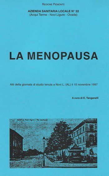 il libro del Dr.Tanganelli La Menopausa