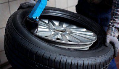 tyre rim removal