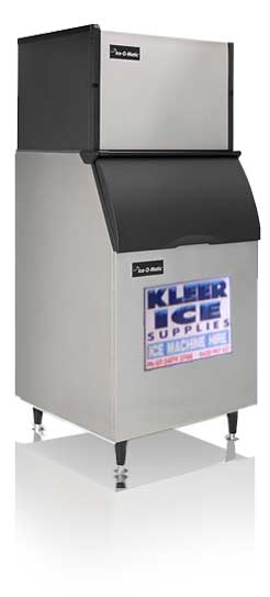 kleer ice supplies ice machine