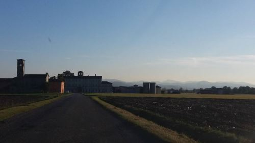 panorama di Borgonuovo Val Tidone