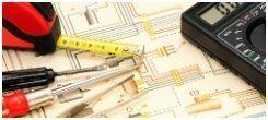 impianti elettrici per edilizia, prove circuitali, quadri bordo macchina