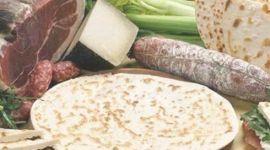 piadina romagnola con affettati