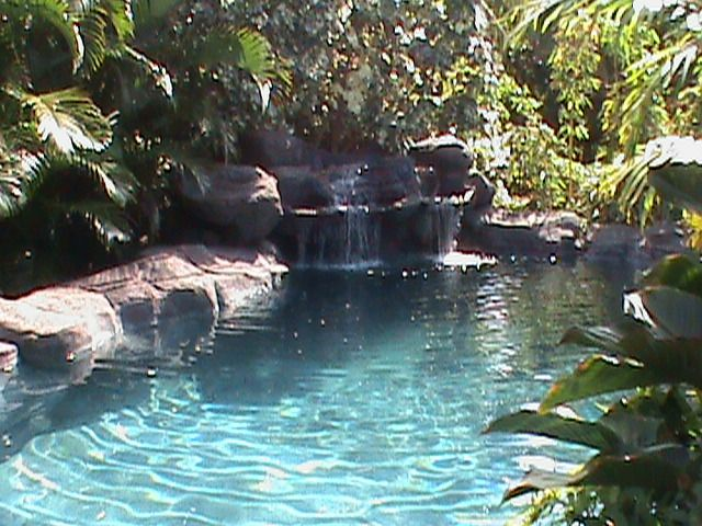 A refreshing pool taken care of by our expert pool cleaners in Kailua, HI