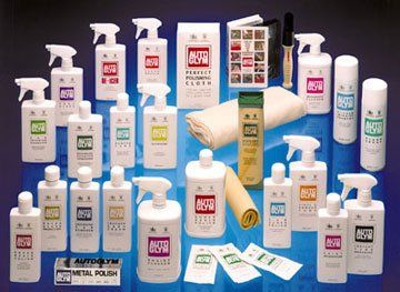 sign designers - Newcastle Upon Tyne, Tyne and Wear - Autoglym products - Alidrew Engineering Ltd