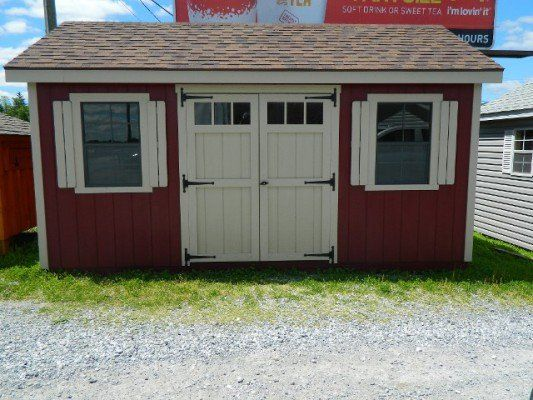 Storage Shed - Dillsburg, PA - Ridgeview Structures