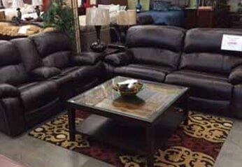 Black Sofa And Table U2014 Home Furnishing In Stockton, CA