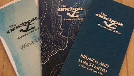 tje anchor menu book
