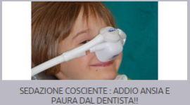 anestesia per bambini, cure odontoiatriche per bambini, ortodonzia pediatrica