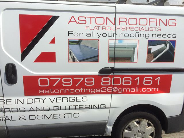 Tiling - Sheffield - Aston Roofing - Van