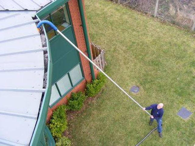 Gutter And High Level Vacuum Cleaning Service Paignton