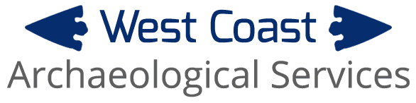 West Coast Archaeological Services logo