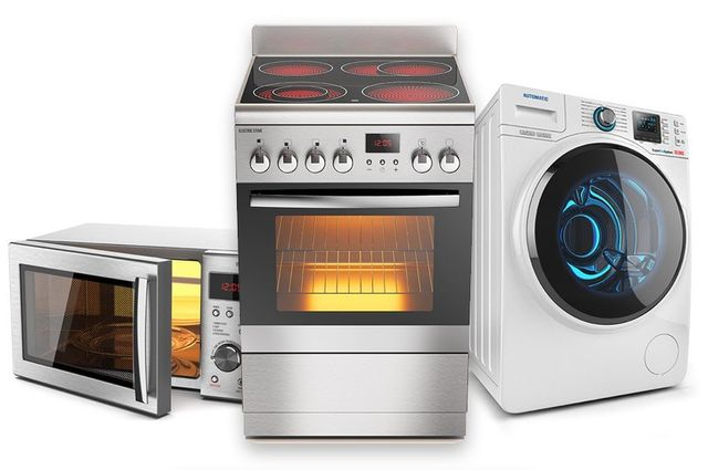 A set of appliances that received oven repair and more in Canberra