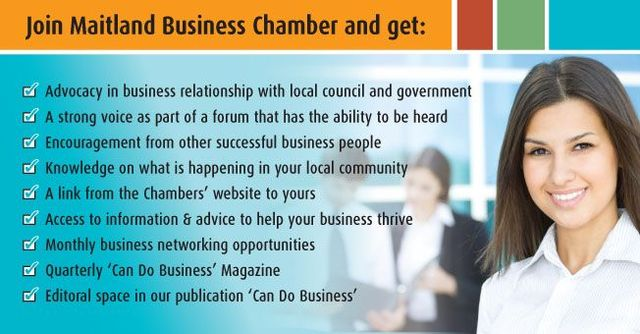 maitland business chamber benefits