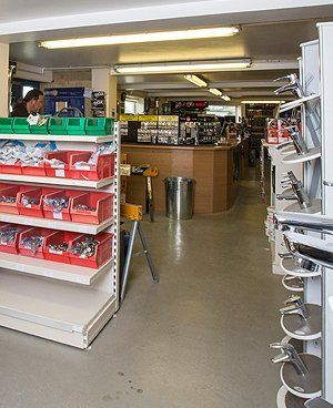 A K Timms trade counter