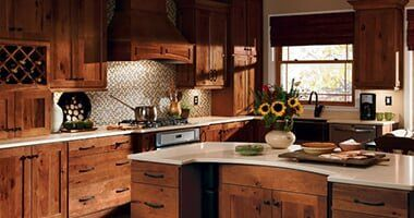 Rustic u2014 Kitchen Cabinets in Colorado Springs CO : kitchen design colorado springs - hauntedcathouse.org
