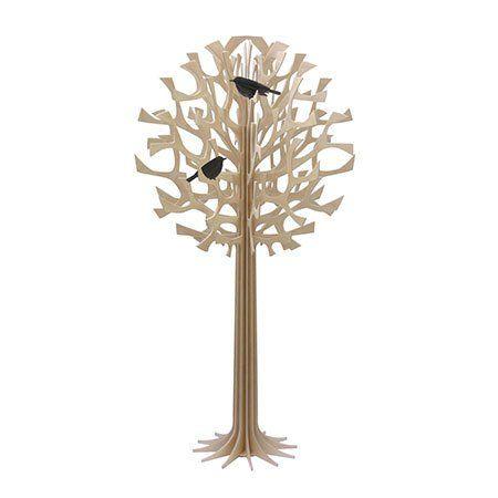 135cm round wooden tree