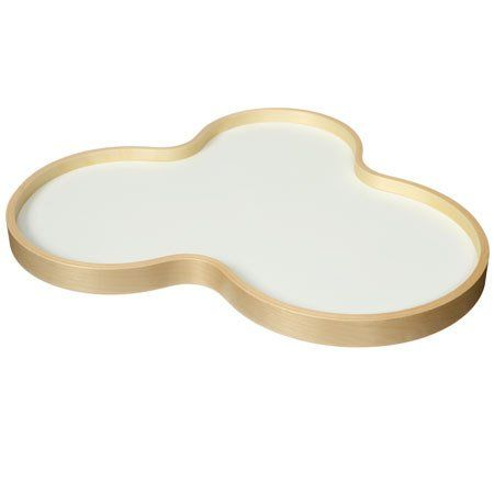 Wooden Tray white