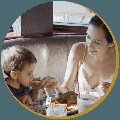 child-friendly restaurant