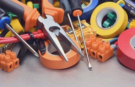 tools and cellotape