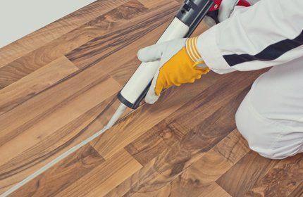 Sealing wooden floor