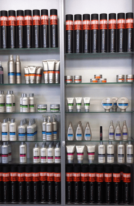 Hair products at our Auckland salon