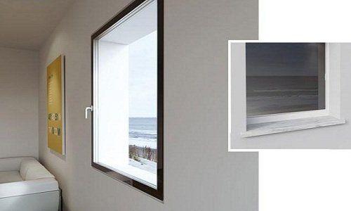 Finestra di PVC di due colore