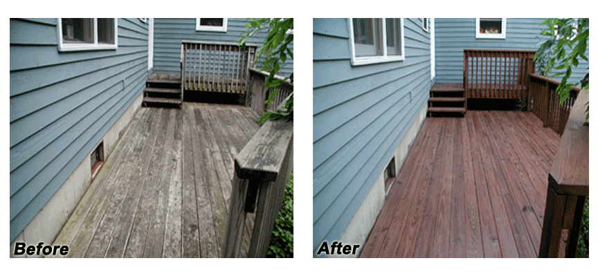 Deck Staining And Cleaning In Nh Ma Hennessy