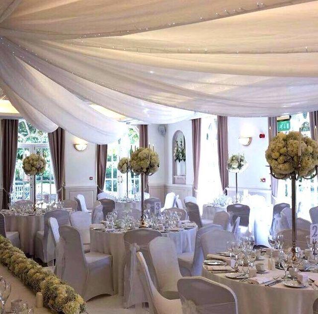 Kents venue decoration experts flower decoration on tables junglespirit Images