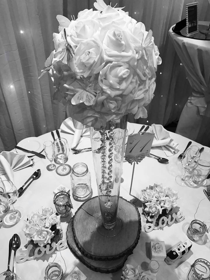 dining table decoration for weddings
